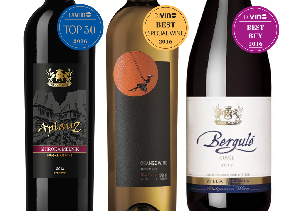Orange is #1 SPECIAL WINE, Bergule Cuvee gets BEST BUY