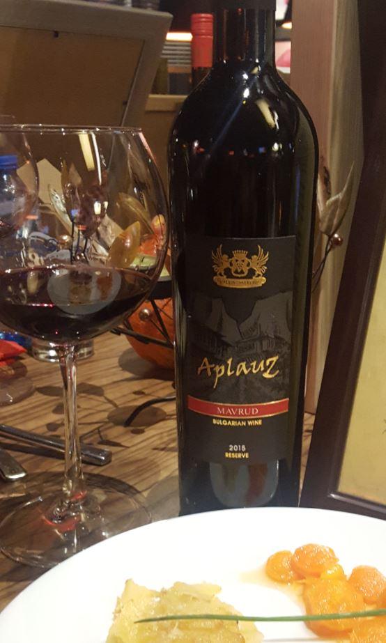 Аплауз Мавруд: Най-доброто българско вино според Бенет