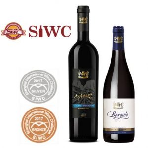 Shanghai international wine competition 2018 silver and bronze