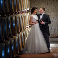 Wedding photography at Villa Melnik Winery Bulgaria
